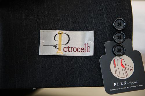 Henry Grethel Petrocelli Suit Label