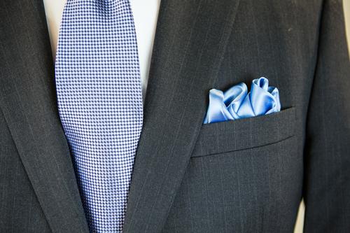Henry Grethel Petrocelli Suit Tie