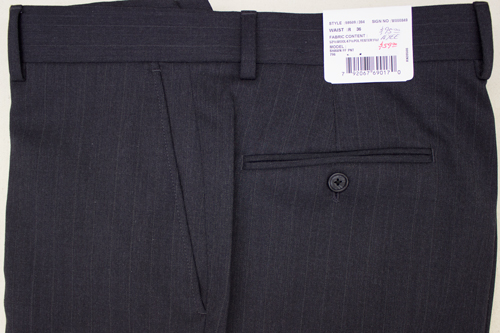 Henry Grethel Petrocelli Trousers Flat Front