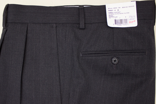 Henry Grethel Petrocelli Trousers Pleated
