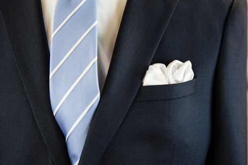 Prontomoda Nailhead Suit Tie