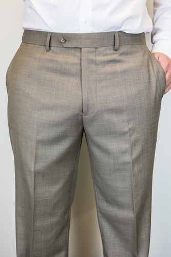 Savane Pants Pleated Khaki