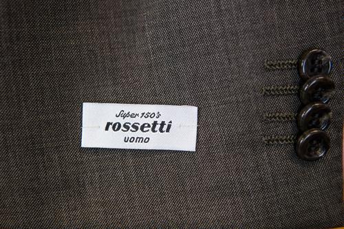 Rossetti Uomo Suit Label